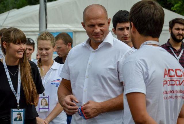 Ставрополье посетил многократный чемпион мира по смешанным единоборствам и боевому самбо Федор Емельяненко