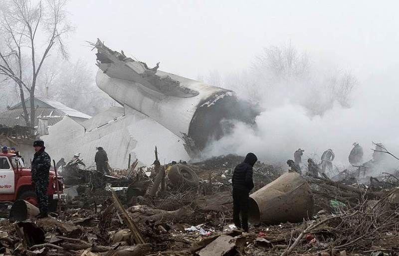 Атамбаев выразил сожаления родным погибших при авиакатастрофе