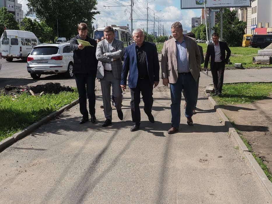 Губернатор проинспектировал объекты строительства в Ставрополе