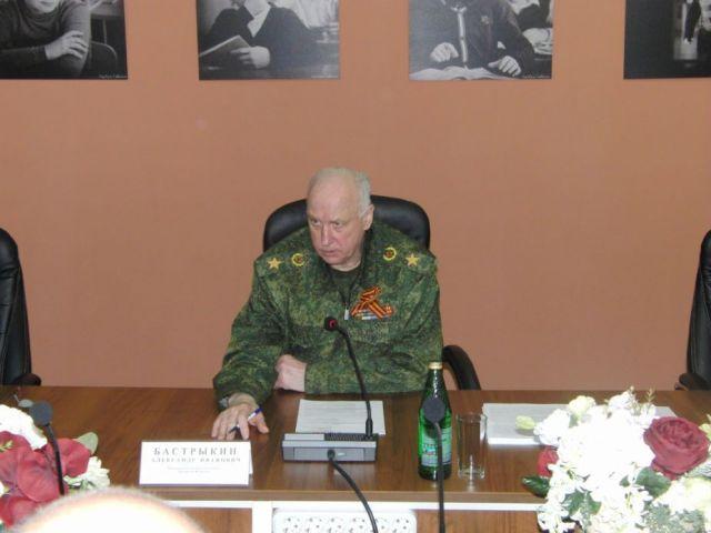 Ставрополь посетил председатель Следственного комитета России Александр Бастрыкин