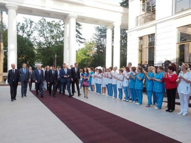 На Ставрополье открылся крупный санаторий мирового уровня