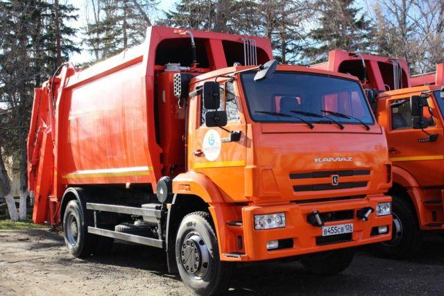 Автопарк первого на Ставрополье регоператора по обращению с отходами пополнили 30 мусоровозов