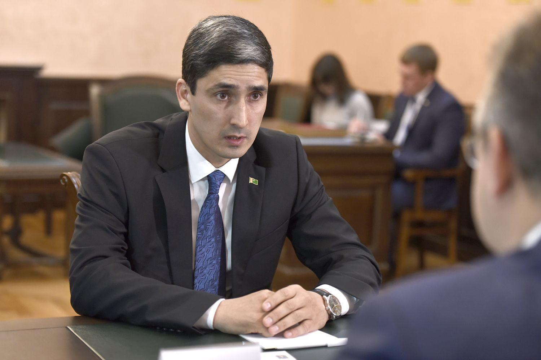 Глава Cтаврополья провёл рабочую встречу с консулом Туркменистана