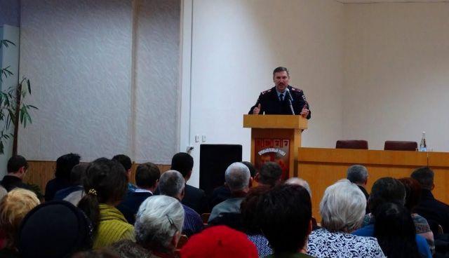 Начальник УМВД России по Ставрополю отчитался перед населением за 2016 год