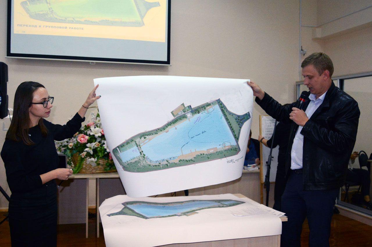 Граждане Ставрополя обсудили свластями будущее Комсомольского озера