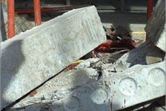 В Ставропольском крае рухнувшая бетонная стена сломала рабочему обе ноги
