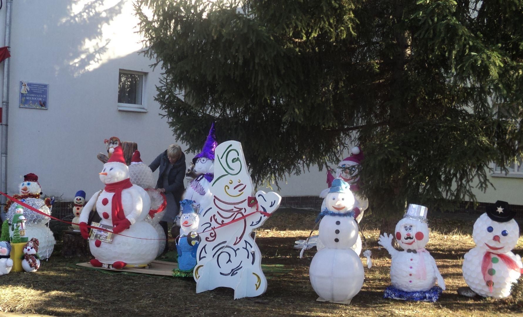 В Ессентуках открыли «Аллею снеговиков»