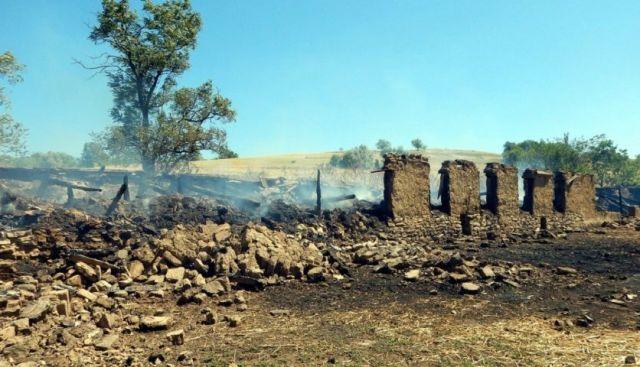Житель Ставрополья из ревности устроил поджог