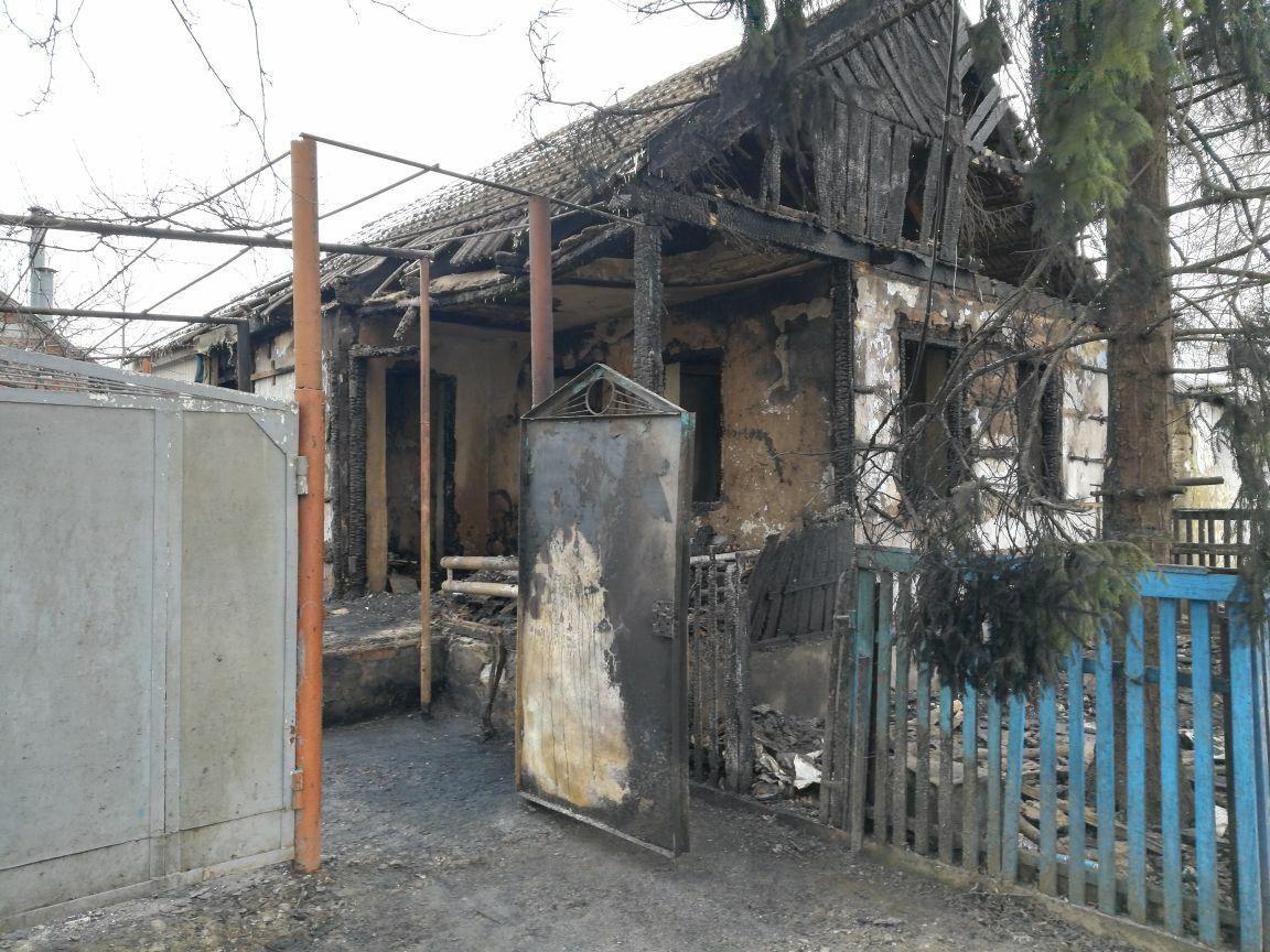 В пожаре в Георгиевском округе погиб человек