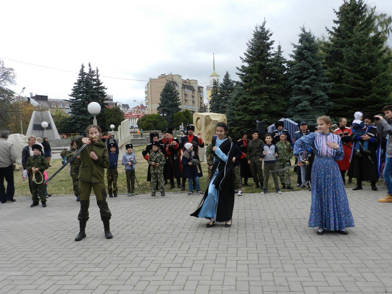 День Ставропольского казачьего округа подчеркнули наКрепостной горе краевого центра