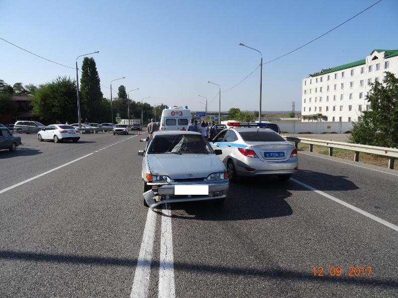 В Георгиевске на пешеходном переходе погиб мужчина