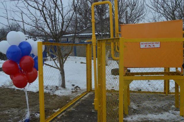 Новый газопровод стал новогодним подарком для жителей хутора Ташла