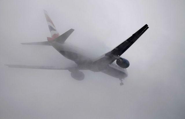 Два авиарейса из Ставрополя в Москву задержаны из-за тумана