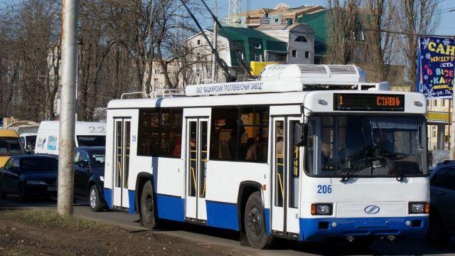 Муниципальный общественный транспорт поехал по новому проспекту Ставрополя