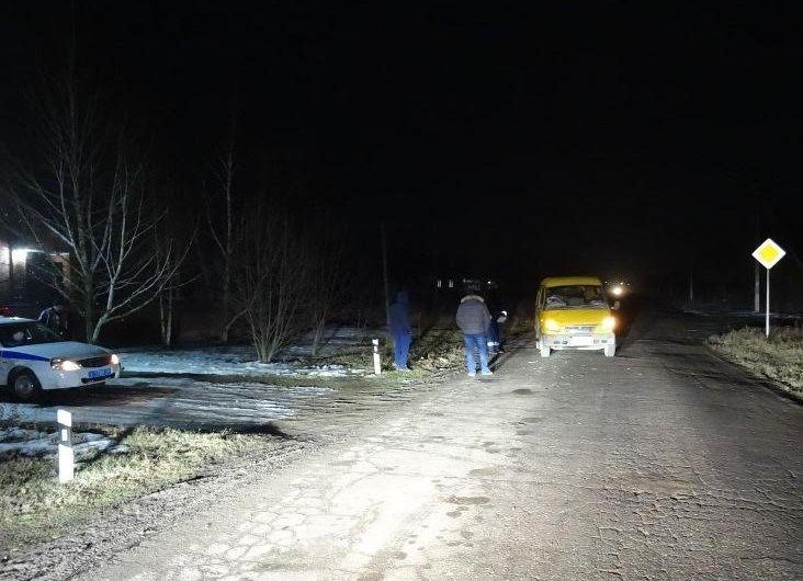 НаСтаврополье двое нетрезвых пешеходов попали под колеса маршрутки