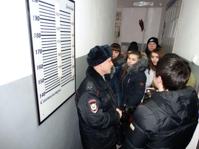 В городской отдел полиции Ставрополя прибыл «Студенческий десант»