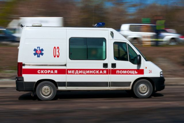 На Ставрополье перевернулся автобус, пострадали семь человек