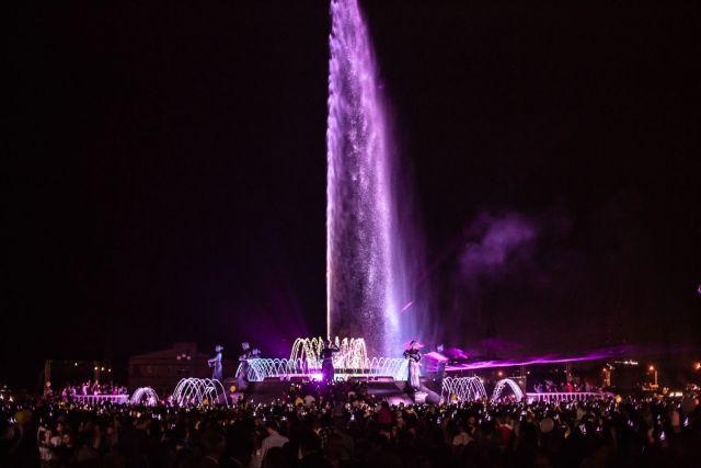 В Ставрополе появилась новая «жемчужина» — светомузыкальный фонтан от ЮСИ