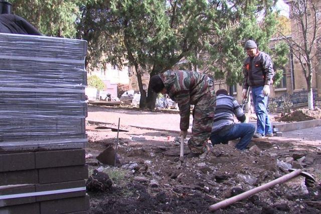 В Пятигорске продолжает действовать программа по восстановлению городских терренкуров