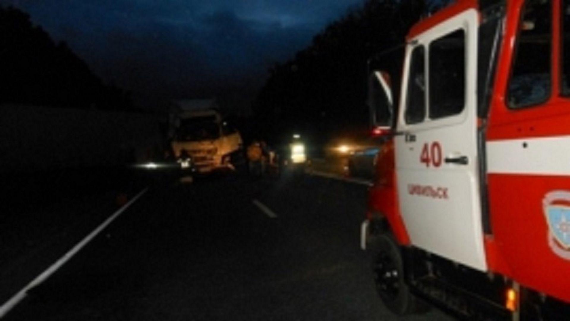НаСтаврополье сгорел пассажирский автобус: пострадал шофёр