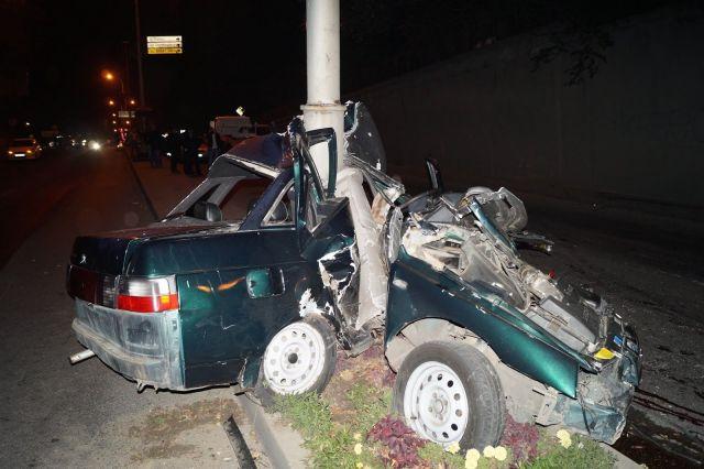В Пятигорске в аварии погиб 20-летний водитель