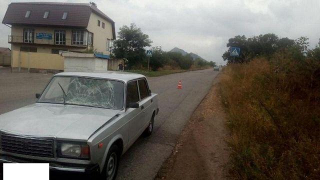 В Пятигорске водитель легковушки насмерть сбил пенсионера