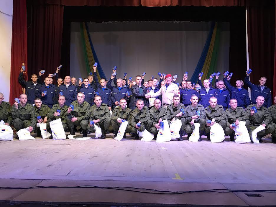 В Ставрополе призывников торжественно проводили на службу Отечеству
