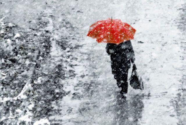 Начало рабочей недели в Ставропольском крае будет снежным и ветреным