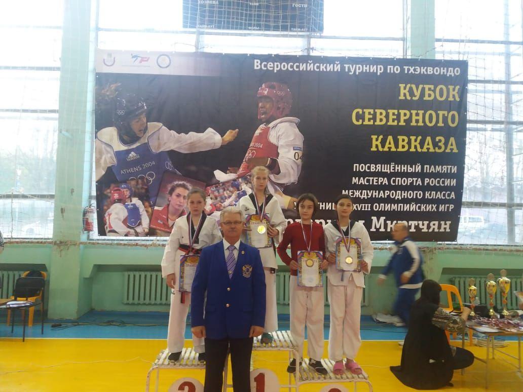 В кубке Северного Кавказа по тхеквондо победили пятеро ессентучан