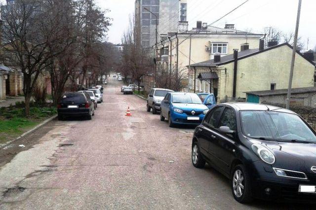 В Пятигорске 4-летнего ребёнка сбил автомобиль