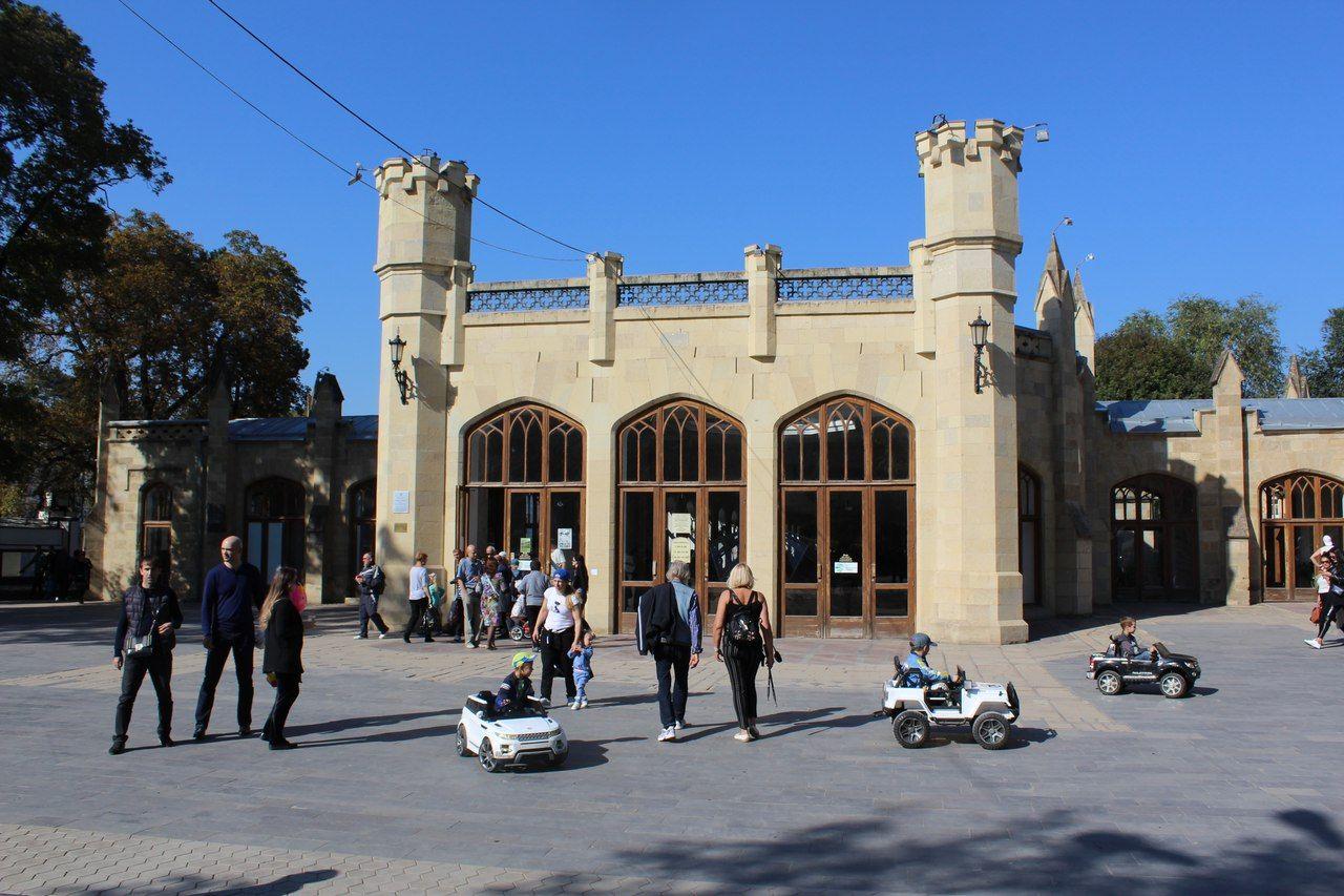 ВКисловодске починят строение Нарзанной галереи