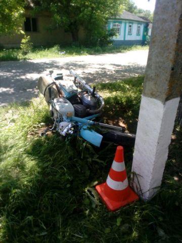 В Ставропольском крае в ДТП погиб 17-летний мотоциклист