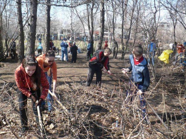 На Ставрополье пройдёт череда весенних субботников