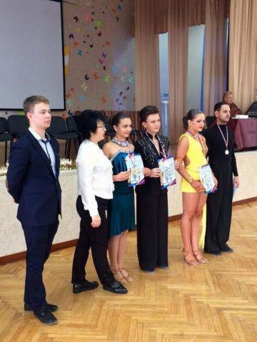 Две ставропольские пары стали лучшими на краевом турнире по спортивно-бальным танцам