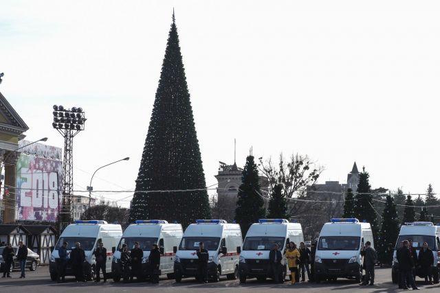 Медучреждения Ставрополья получили новые машины скорой помощи