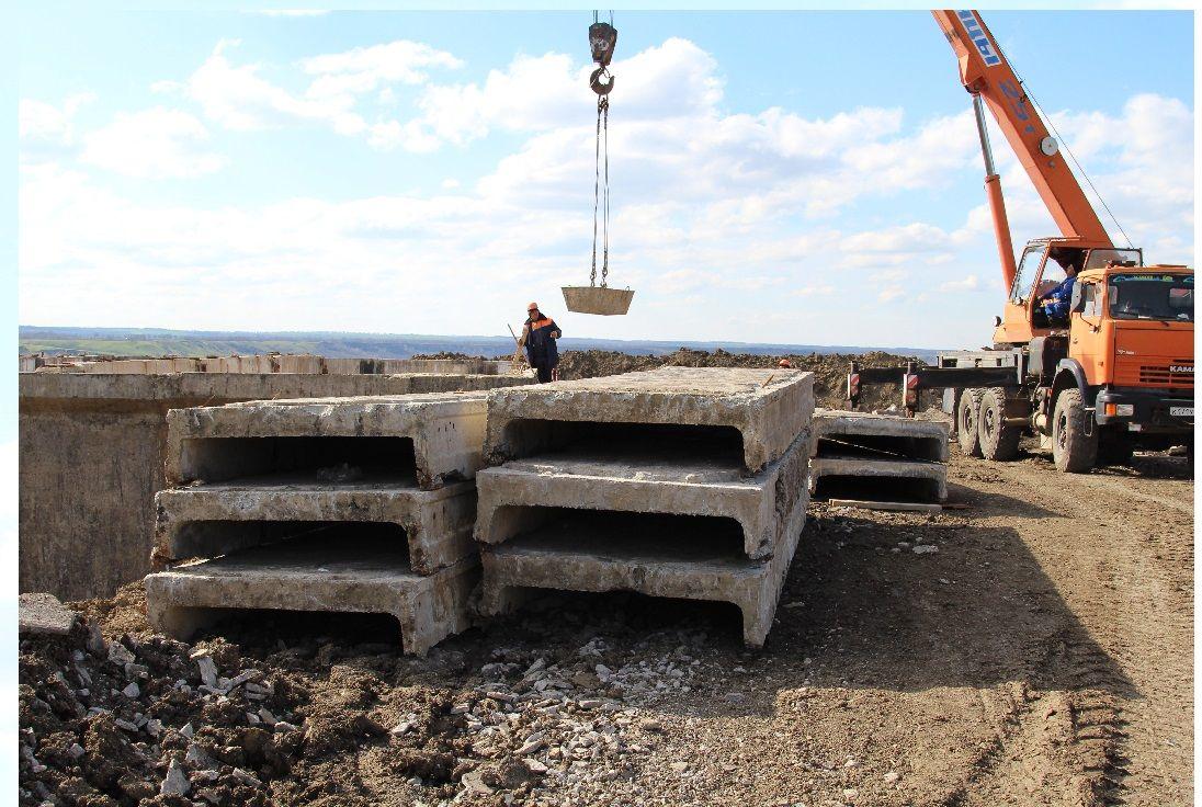 Строительство водовода в станице Беломечетской Кочубеевского района идёт по плану