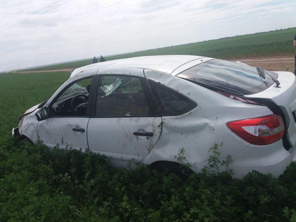 При опрокидывании автомобиля наСтаврополье умер ребенок