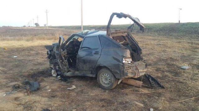 На Ставрополье водитель не справился с управлением и погиб