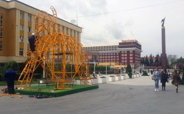Ставрополь к Студенческой весне украсят пять новых арт-объектов