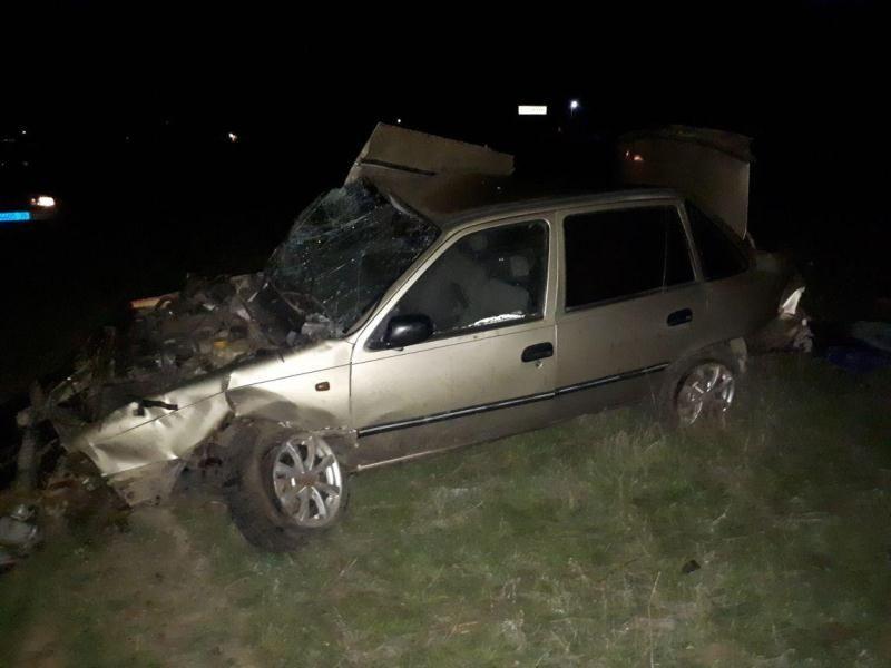 ВТуркменском районе разбился шофёр без прав