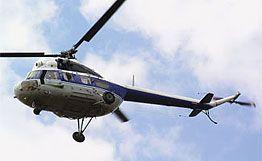 Вертолет совершил аварийную посадку на Ставрополье