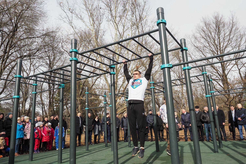 В Пятигорск приехали 250 спортсменов на турнир по воркауту
