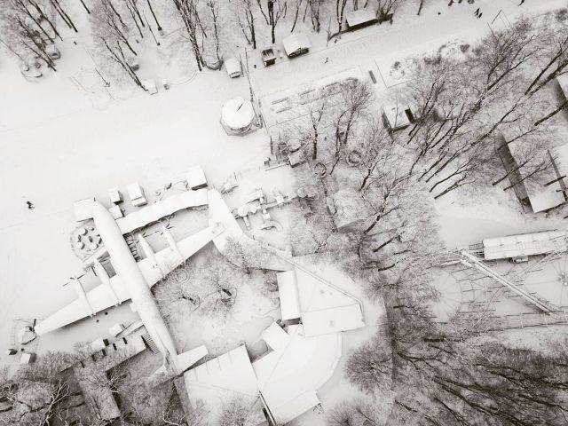 Фото недели: первый снег и зимние пейзажи Ставрополья