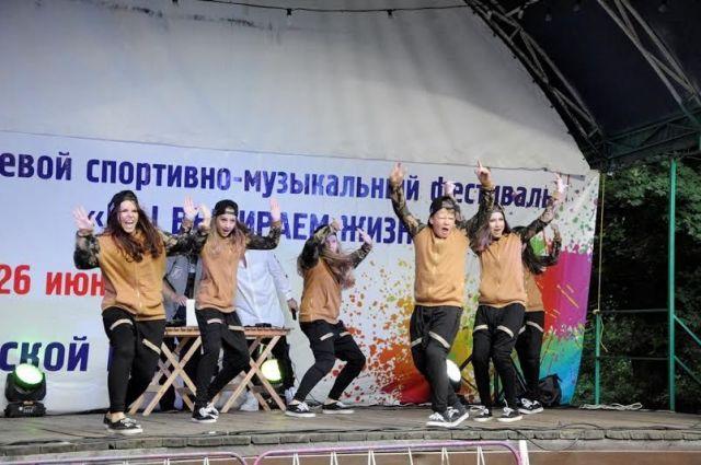 В Ставрополе прошли сразу два молодёжных фестиваля