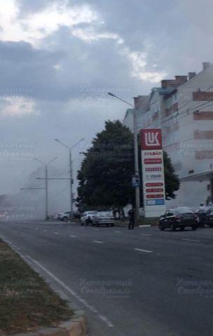 В Ставрополе на заправочной станции загорелось топливо над подземными резервуарами