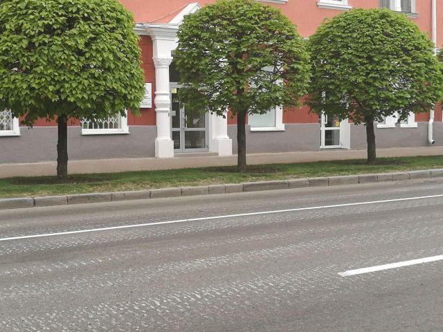 В центре Ставрополя военная техника испортила асфальтовое покрытие дорог