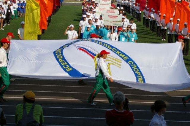 Ставропольская команда привезла награды с летних сельских спортивных игр