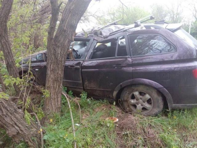 В Ставрополе 80-летний водитель врезался в дерево