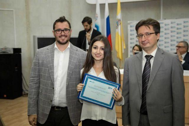 АО «КСК» отметило стипендиями лучших студентов СКФУ