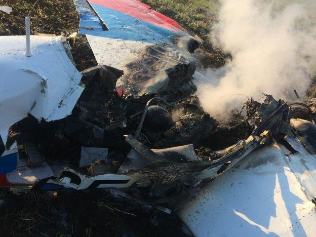 По факту крушения самолёта на Ставрополье проводится доследственная проверка